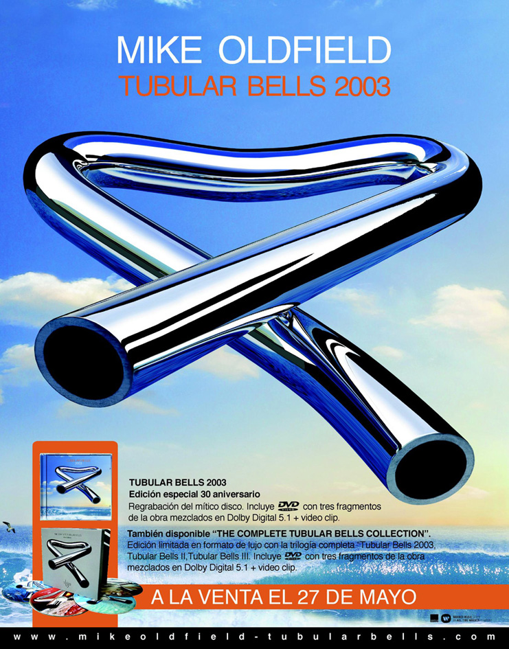 Mike Oldfield - Tubular net - Archives